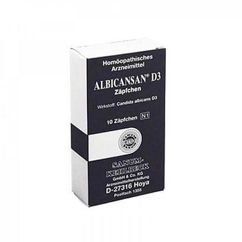 Sanum albicansan d3 10 supposte
