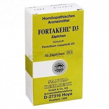 Fortakehl d3 10 supposte 2g sanum