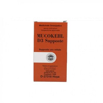 Sanum mucokehl d3 10 supposte