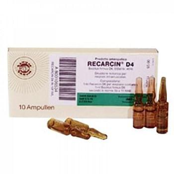 Recarcin d4 10 fiale 1 ml sanum