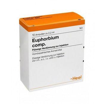 Heel euphorbium compositum 10 fiale da 2,2 ml l'una
