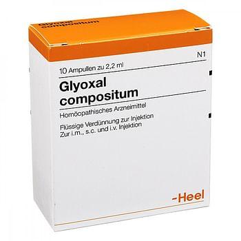 Heel glyoxal compostium 10 fiale da 2,2 ml l'una