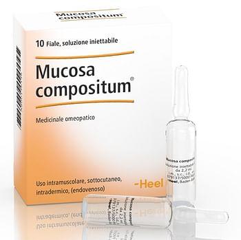 Heel mucosa compositum 10 fiale da 2,2 ml l'una