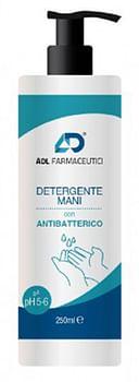 Adl detergente mani con antibatterico 250 ml