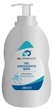 Adl farmaceutici gel igienizzante 500 ml