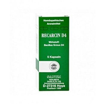 Recarcin d4 5 capsule sanum