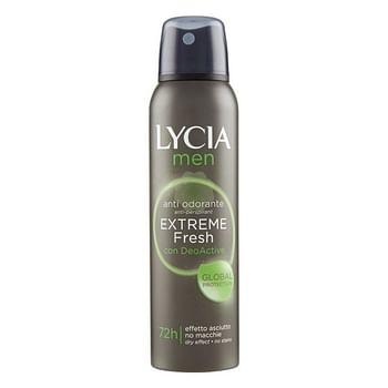 Lycia deodorante spray men extr fresh