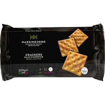 Massimo zero crackers salati in superficie 200 ml