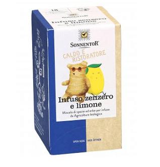 Sonnentor infuso zenzero-limone 18 filtri