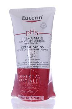 Eucerin bipacco ph5 crema mani 75 ml + 75 ml