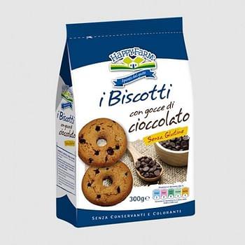 Happy farm biscotti gocce cioccolato 200 g