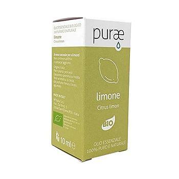 Purae olio essenziale limone biologico 10 ml