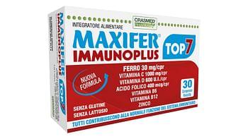 Maxifer immunoplus top 7 30 compresse