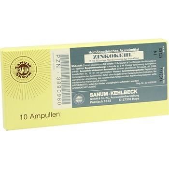 Zincokehl 10 fiale 2 ml iniett sanum