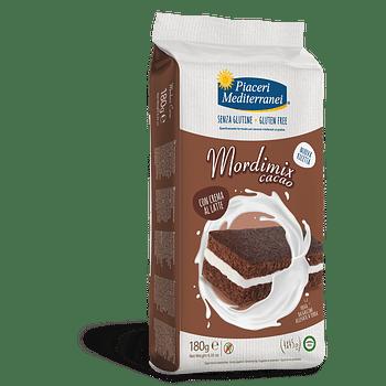 Piaceri mediterranei mordimix cacao 4 pezzi da 45 g