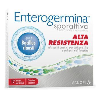 Enterogermina sporattiva 12 bustine orodispersibili