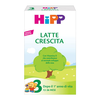 Hipp latte 3 per crescita in polvere 500 g