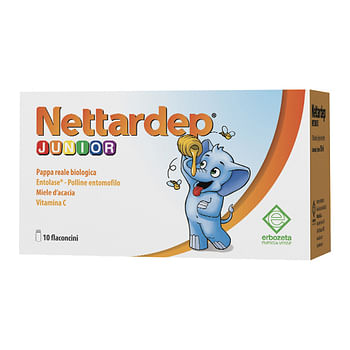 Nettardep junior 10 flaconcini da 15 ml
