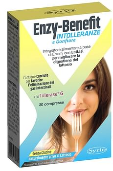 Enzy benefit intolleranze 30 compresse