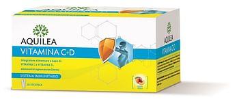 Aquilea vitamina c+d 28 bustine stick