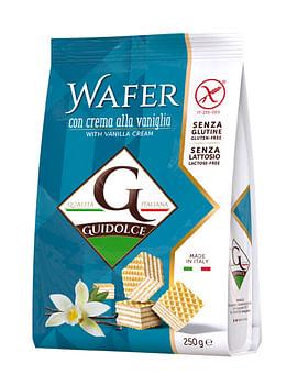 Wafer gusto vaniglia 250 g