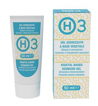 H3 gel ozonizzato a base vegetale 50 ml