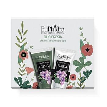 Euphidra duo di fresia 1 crema corpo fresia + 1 docciagel fresia