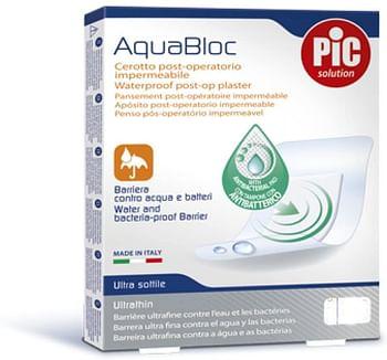 Cerotto pic aquabloc sterile 10x25 cm antibatterico 1 pezzo