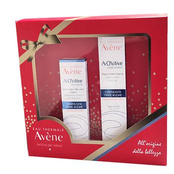 Avene eau thermale cofanetto anti-age viso 1 a-oxitive crema 30 ml + 1 contorno occhi 15 ml