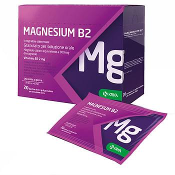 Magnesium b2 300/2mg 20 bustine
