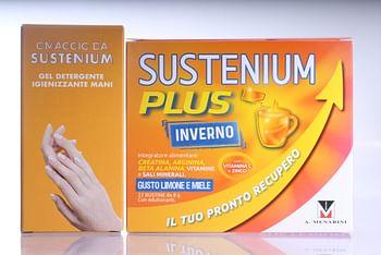 Sustenium plus inverno 22 buste + gel igienizzante in omaggio
