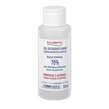 Boderm hand cleansing gel 70% 90 ml
