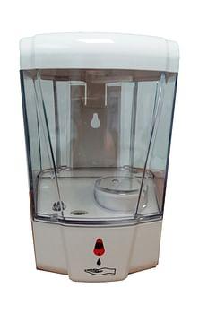 Dispenser automatico a infrarossi da muro per sapone/schiuma capacita' 600 ml alimentazione a rete o batteria