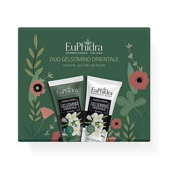 Euphidra duo gelsomino orientale 1 crema corpo gelsomino + 1 crema gelsomino