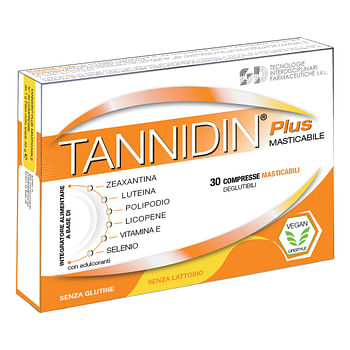 Tannidin plus 30 compresse masticabili