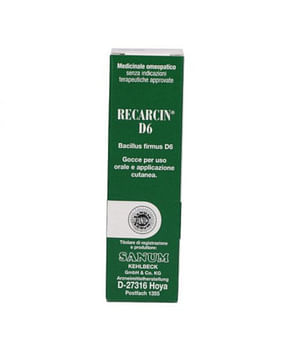 Sanum recarcin d6 lin 5 ml