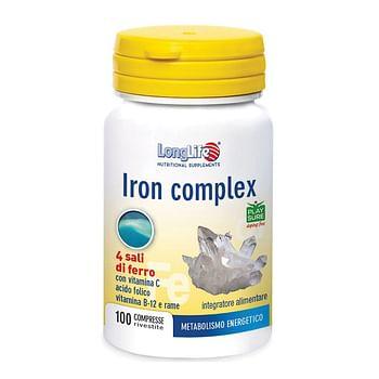 Longlife iron complex 100 compresse