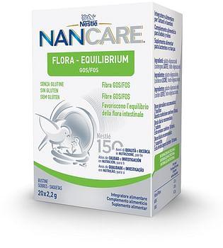 Nestle' nancare flora equilibrium 20 bustine