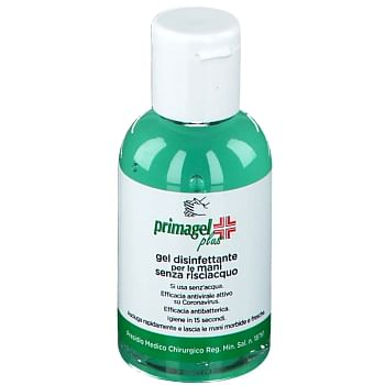 Primagel plus gel disinfettante per le mani 50 ml