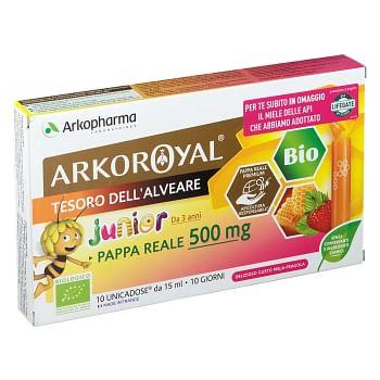 Arkoroyal pappa reale 500mg bio 10 fialoidi promo