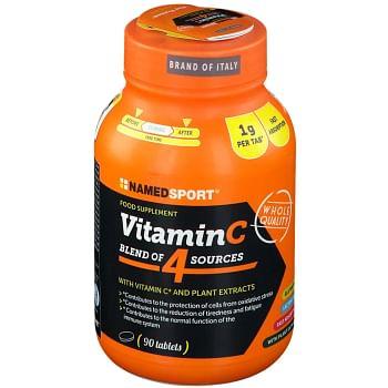 Vitamin c 4 natural blend 90 compresse