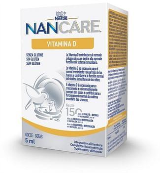 Nestle' nancare vit d gocce 5 ml