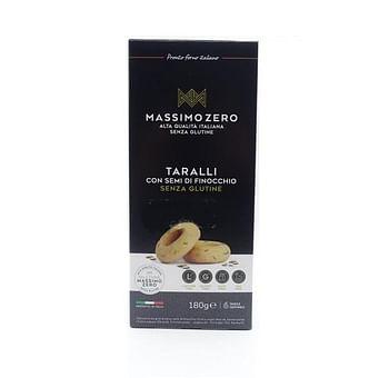 Massimo zero taralli con semi di finocchio 180 g