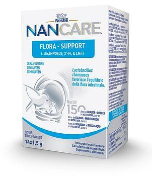 Nestle' nancare flora support 14 bustine