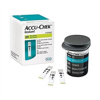 Accu-chek instant 25 strips