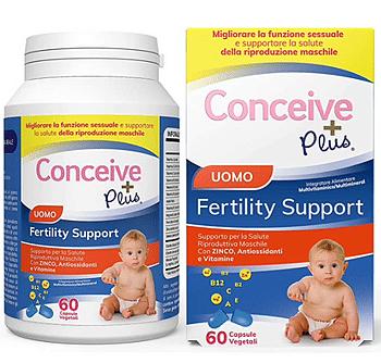 Conceive plus supporto fertilita' maschile 60 capsule