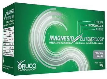 Magnesio elite trilogy composto polvere 20 bustine x 4,5 g
