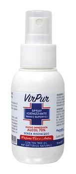 Virpur spray igienizzante mani superfici 70 ml