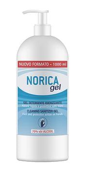 Norica gel detergente igienizzante 70% alcool 1000 ml 980533982
