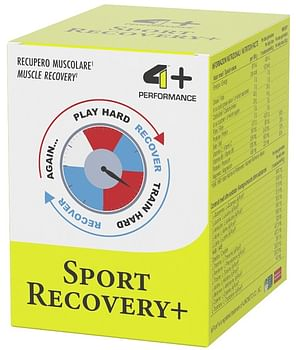 4+ performance sport recovery 10 bustine